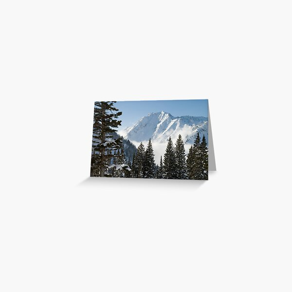 Mt. Superior Greeting Card