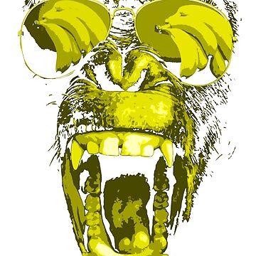Banana Chimp! by robotface