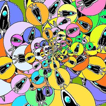 Rocket bubbles by niar