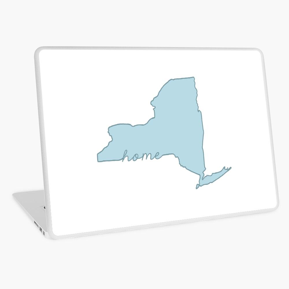 New Yorker Heimatstaat blau Laptop Folie