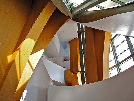 Walt Disney Concert Hall Entrance Foyer by seanh