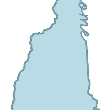 New Hampshire Home State Blue by jamiemaher15
