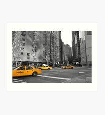Taxi, Taxi Art Print