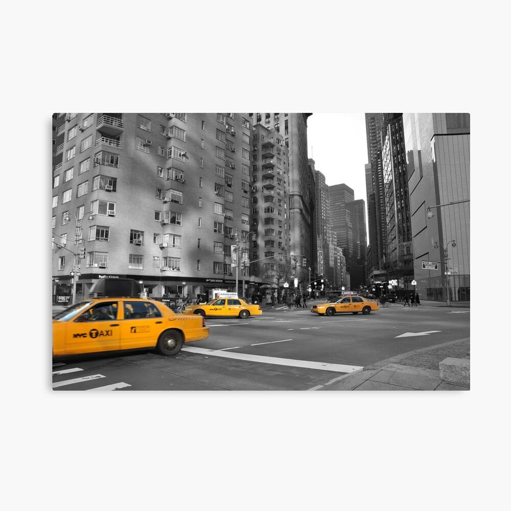 Taxi, Taxi Canvas Print