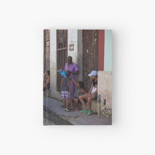 Havana Street Life Hardcover Journal
