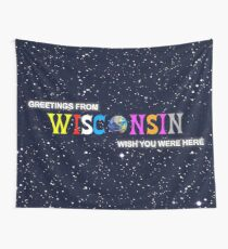 Greetings from Wisconsin - Astroworld Tapestry