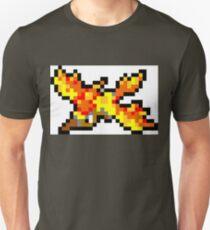 Pokemon 8-Bit Pixel Moltres 146 T-Shirt