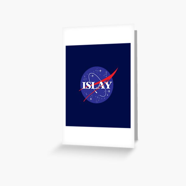 NASA parody: Islay Greeting Card