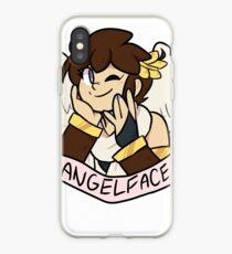 Vinilo o funda para iPhone Cara de angel [version 1]