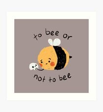 beelliam shakesbee Art Print