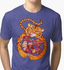 The Tiger Who Came To Tee Tri-blend T-Shirt