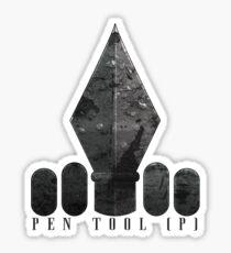 Pen Tool Sticker