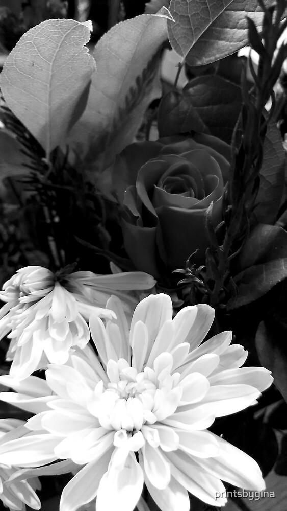 Holiday Flowers by printsbygina