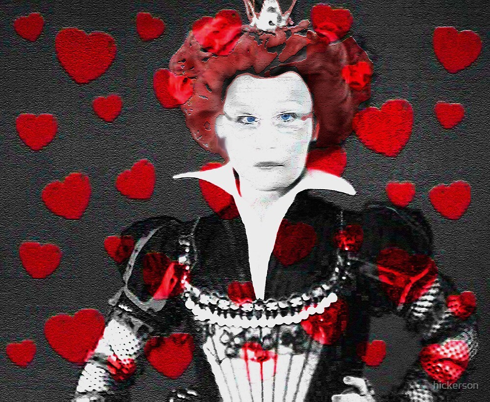 Heartless Queen of Hearts by hickerson