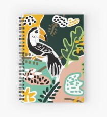 The Toucan  Spiral Notebook