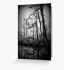 Hollow Night Greeting Card
