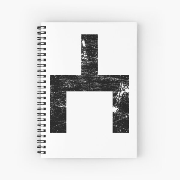 Choose Distressed Spiral Notebook