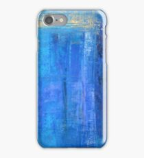 Blue 12 iPhone Case/Skin