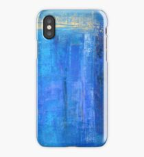 Blue 12 iPhone Case