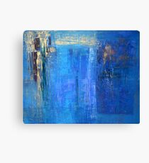 Blue 12 Canvas Print