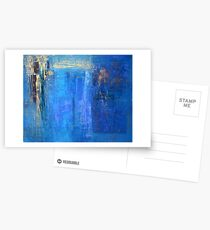 Blue 12 Postcards