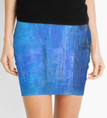 Blue 12 Mini Skirt