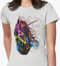 Dawn of a Unicorn Womens Fitted T-Shirt