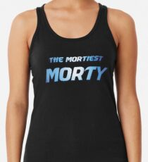 Rick and Morty - The Mortiest Morty Racerback Tank Top