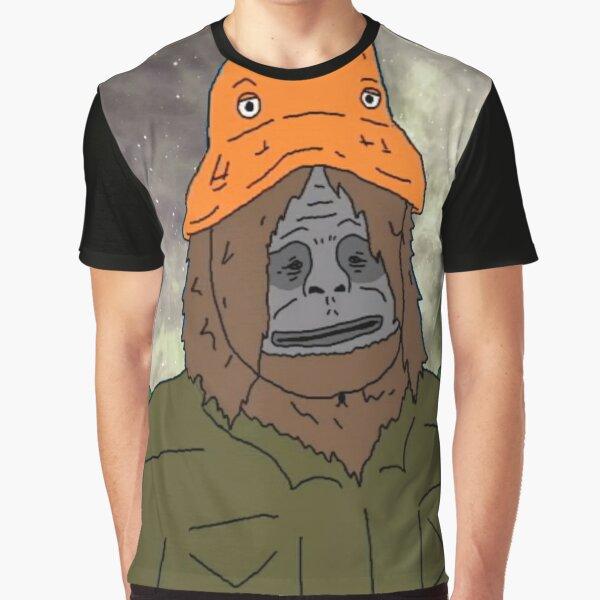 Big Lez Show - Trippy Sassy Sasquatch Graphic T-Shirt