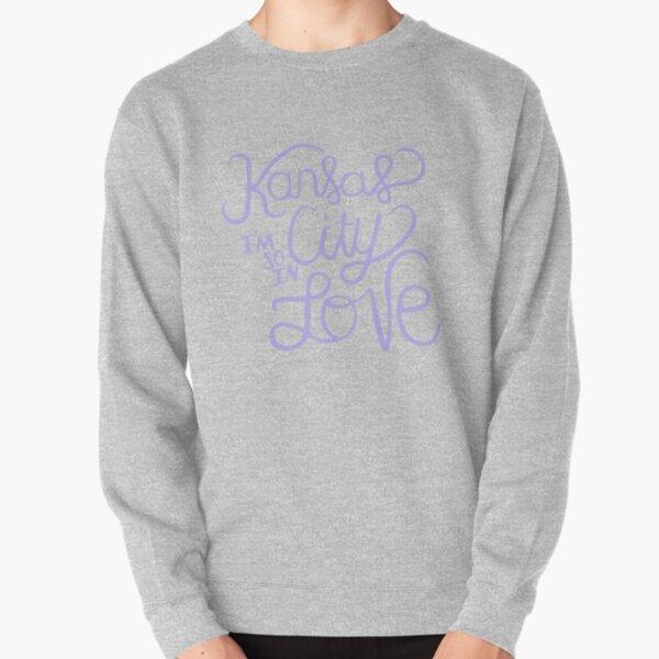 Kansas City Im So In Love (Lavender) Pullover Sweatshirt