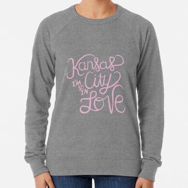 Kansas City Im So In Love (Pink) Lightweight Sweatshirt