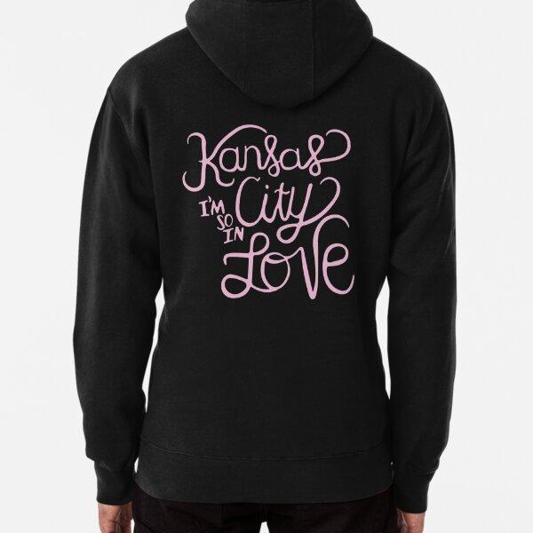 Kansas City Im So In Love (Pink) Pullover Hoodie