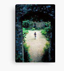 The Boy and the Secret Garden Canvas Print
