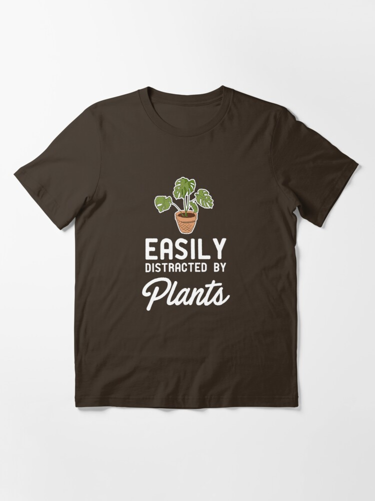 Alternate view of Easily Distracted By Plants Essential T-Shirt