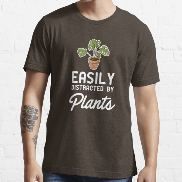 Easily Distracted By Plants Essential T-Shirt
