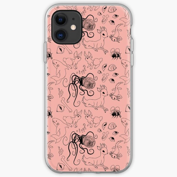 the family 1 - coral iPhone Soft Case