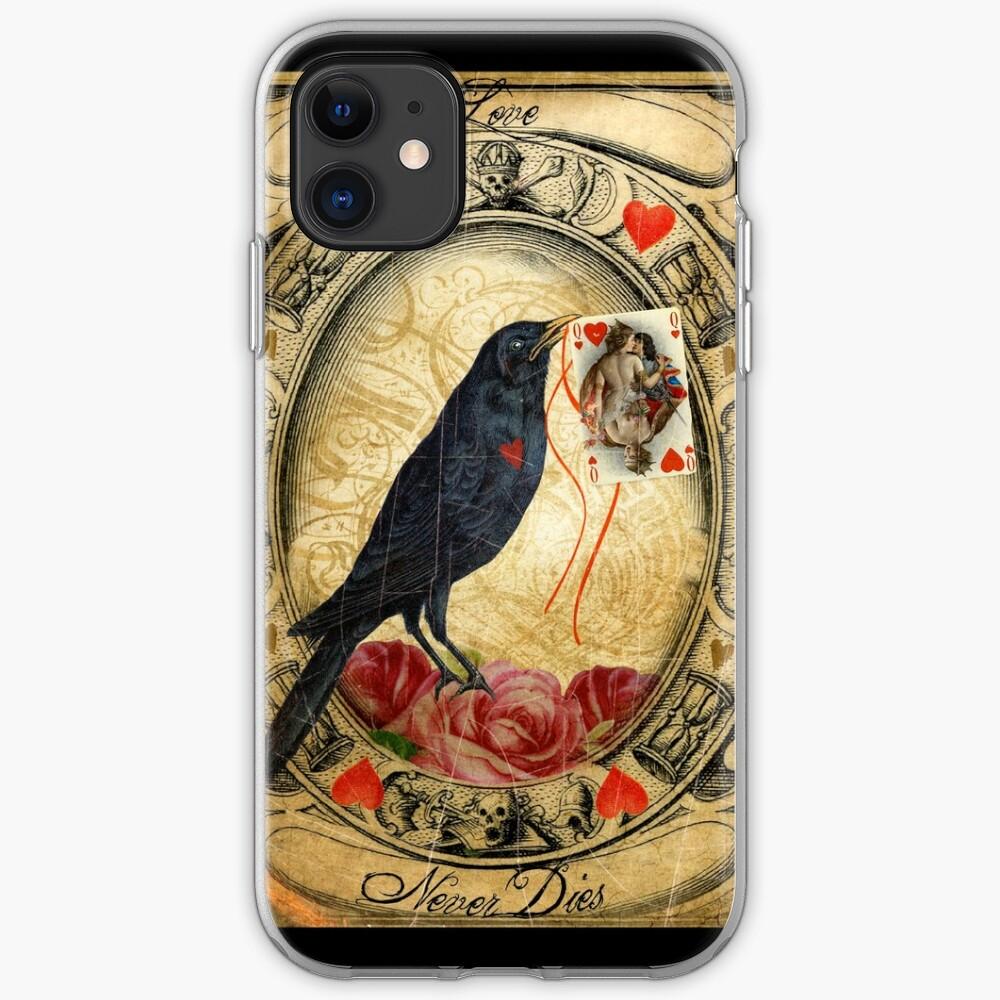 Love Never Dies iPhone Soft Case