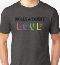 Molly and Tommy Love Slim Fit T-Shirt
