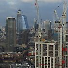 London's Ever Changing Skyline by wiggyofipswich