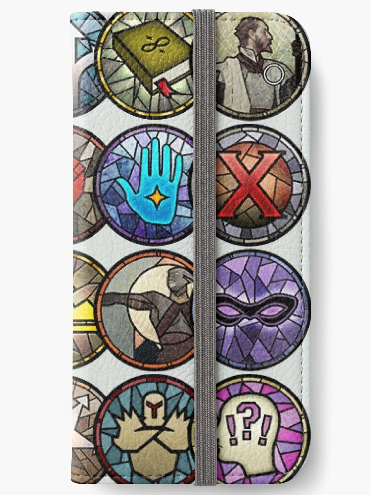 'Dragon Age Inquisition Dialogue Wheel Icons | Dragon Age Stickers' iPhone  Wallet by surik-