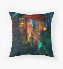 Gypsy Firefly Throw Pillow