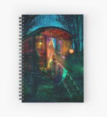 Gypsy Firefly Spiral Notebook