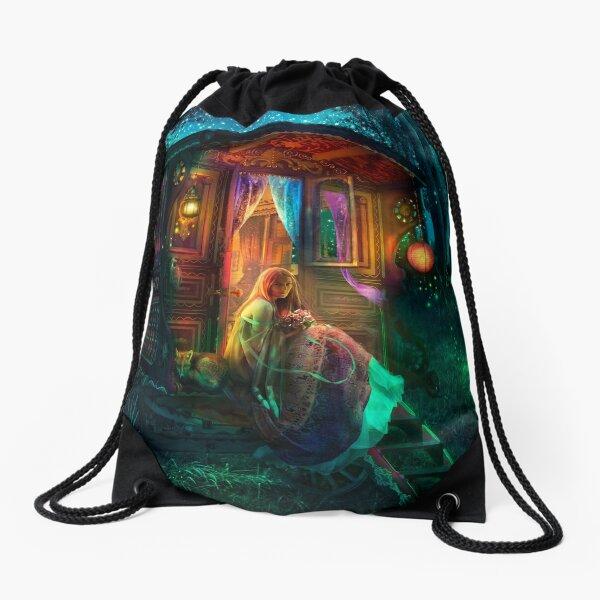 Gypsy Firefly Drawstring Bag