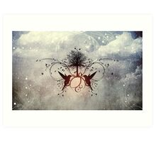 Grace Within The Story Art Print