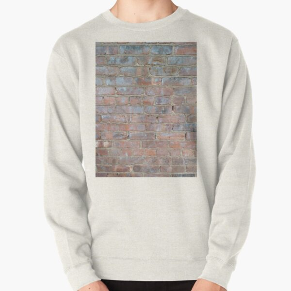 #cement #brick #dirty #old #rough #concrete #solid #pattern #wallpaper #clay #colorimage #wallbuildingfeature #cubeshape #stonematerial #textured #constructionindustry #brickwall #square Pullover Sweatshirt