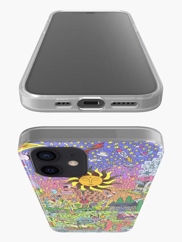 Alternate view of PSYCHEDELIC SUNSET iPhone Case & Cover
