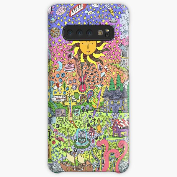 PSYCHEDELIC SUNSET Samsung Galaxy Snap Case