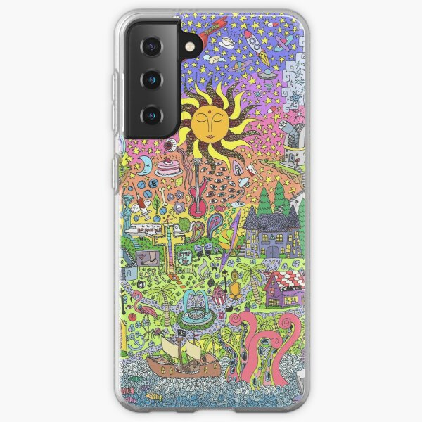 PSYCHEDELIC SUNSET Samsung Galaxy Soft Case