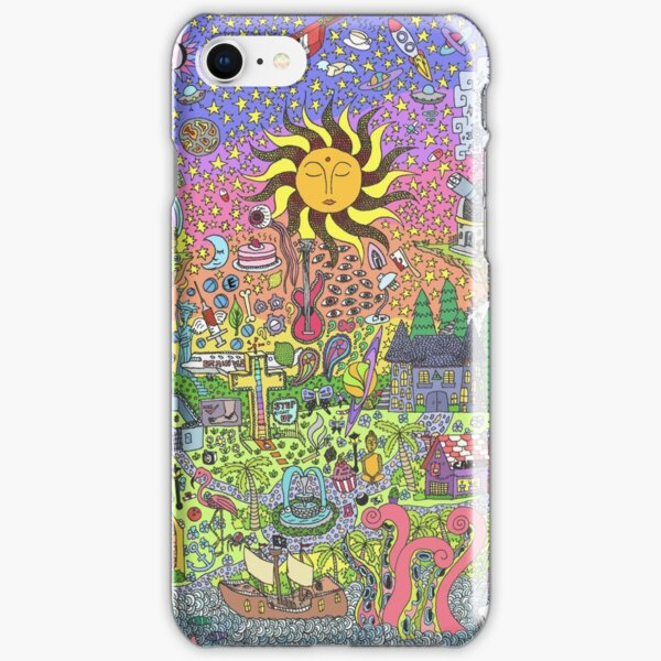 PSYCHEDELIC SUNSET iPhone Snap Case