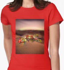 Wonderland Womens Fitted T-Shirt